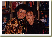 'The Family Historian' Roger's mother Lauden Burdine at the Opry House, 1997